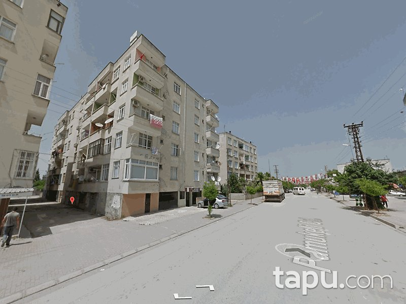 Adana Ceyhan Memur Evleri'nde 2+1 90 m2 Daire