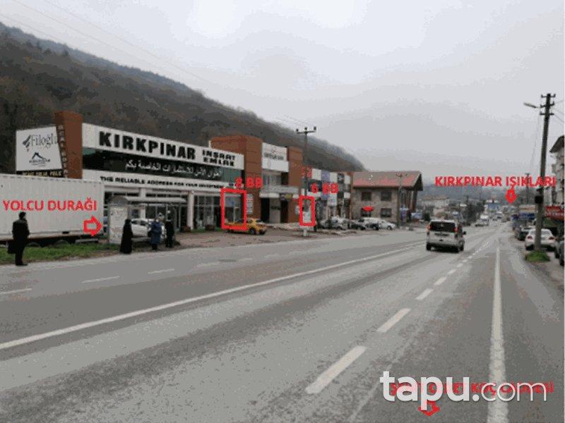Sakarya Sapanca Şehit Cevdet Koç Caddesi'ne Cepheli 69 m2 Dükkan