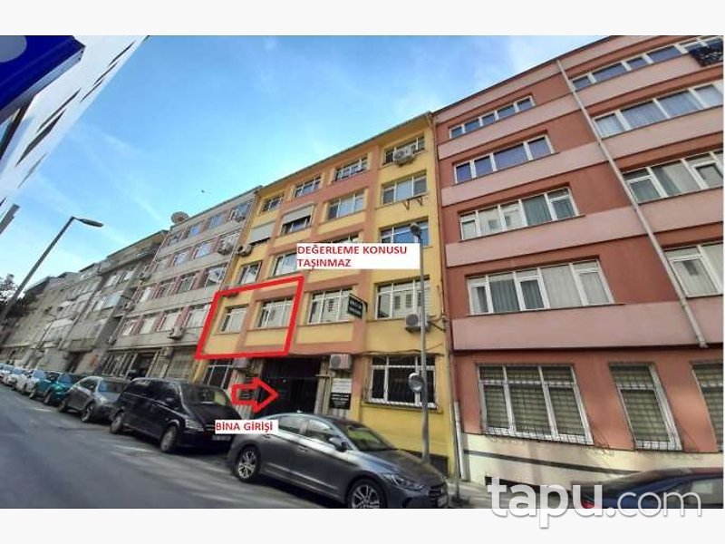 İstanbul Şişli Merkez Mahallesi'nde 2+1 Kiracılı Daire