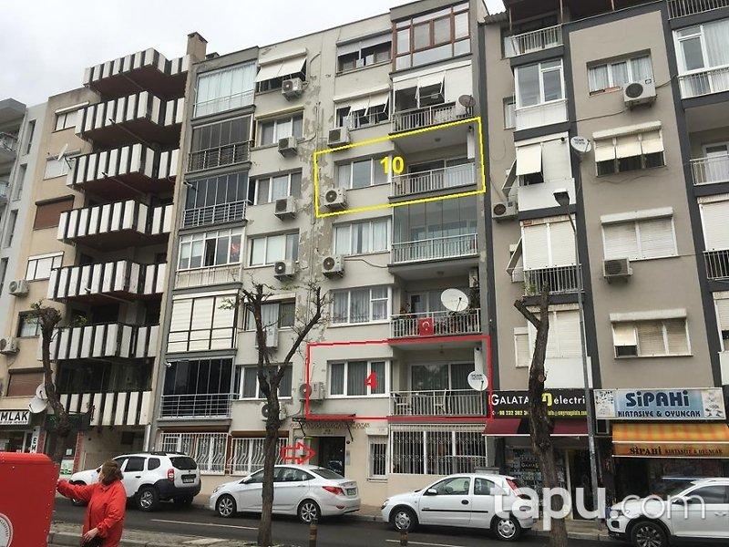 İzmir Karşıyaka Bahariye Mahallesi'nde 3+1 122 m2 İskanlı Daire