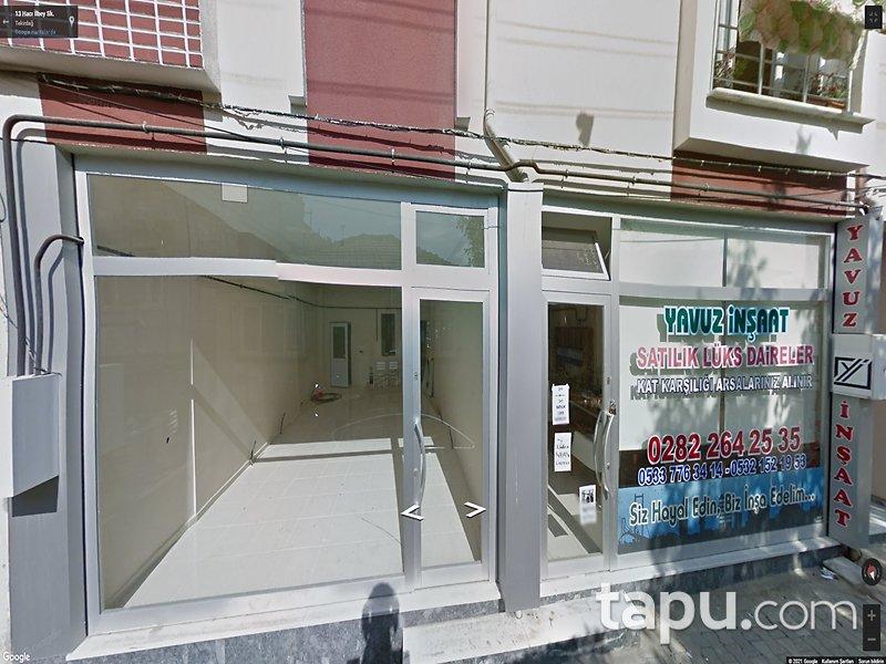 Tekirdağ Süleymanpaşa Çiftlikönü Mahallesi'nde 50 m2 İş Yeri
