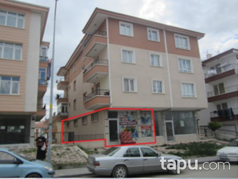Ankara Akyurt Yıldırım Mahallesi'nde 141 m2 Depolu Dükkan