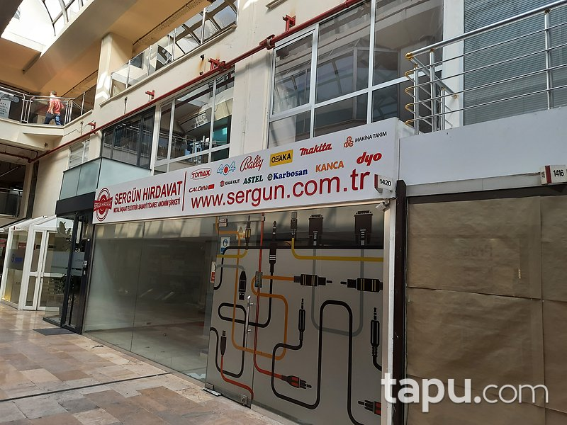 İstanbul Şişli Perpa İş Merkezi'nde 83 m2 Dükkan
