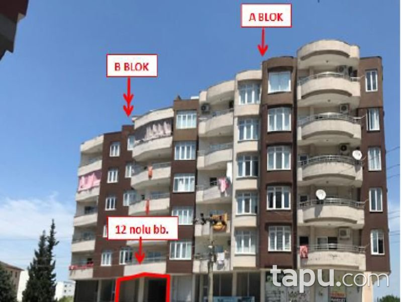 Hatay Payas Yıldırım Beyazıt Mahallesi'nde 110 m2 Asma Katlı Dükkan