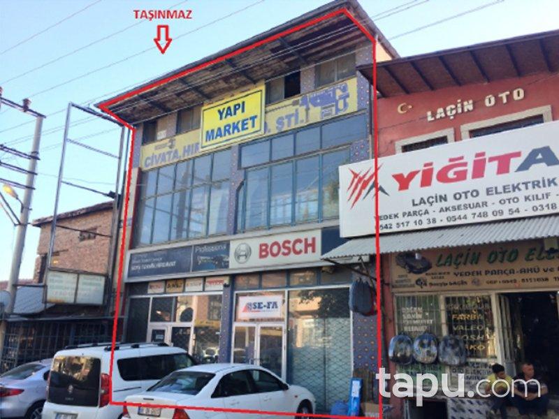 Kırıkkale Merkez Sanayi Mahallesi'nde 932 m2 Depolu Dükkan