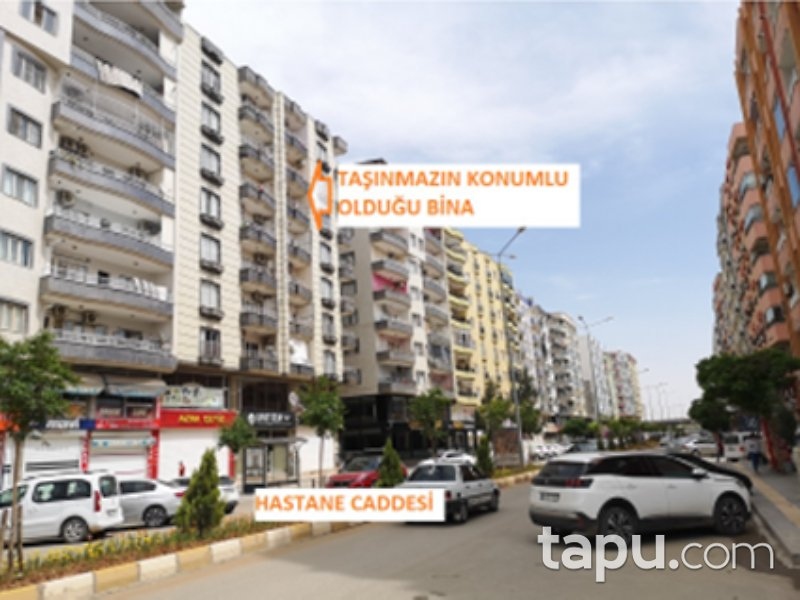 Mardin Kızıltepe Cumhuriyet Mahallesi'nde 4+1 170 m2 Daire