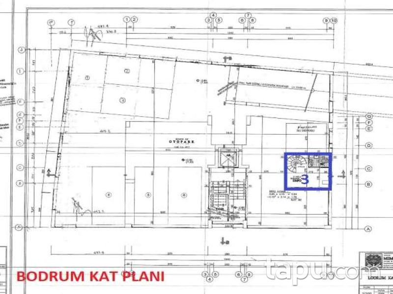 İstanbul Kadıköy Feneryolu Mahallesi'nde 31 m2 Depolu Dükkan (1420)