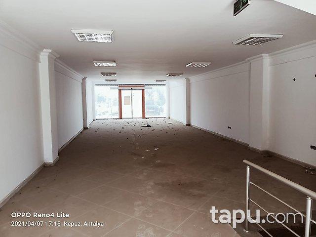 Antalya Kepez Sütçüler Mahallesi'nde 320 m2 Depolu Dükkan