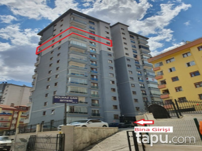Ankara Yenimahalle Çam Sitesi'nde 4+1 153 m2 Daire