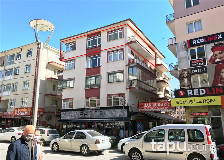 Ankara Sincan Atatürk Mahallesi'nde 3+1 Daire