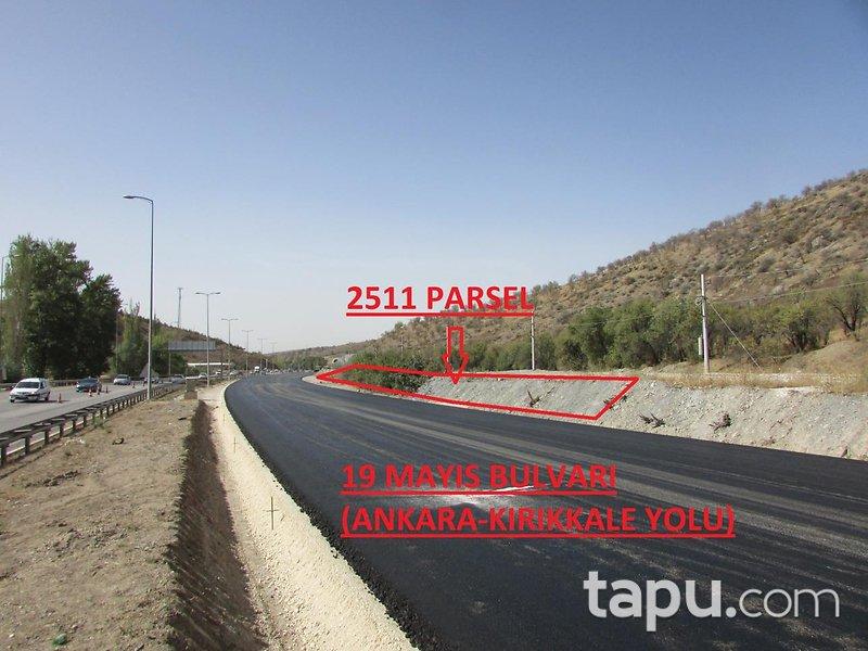 Ankara Kırıkkale Yoluna Cepheli 338 m2 1/2 Hisseli Tarla