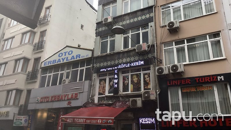 İstanbul Fatih İnebey Mahallesi'nde 1+1 51 m2 Daire