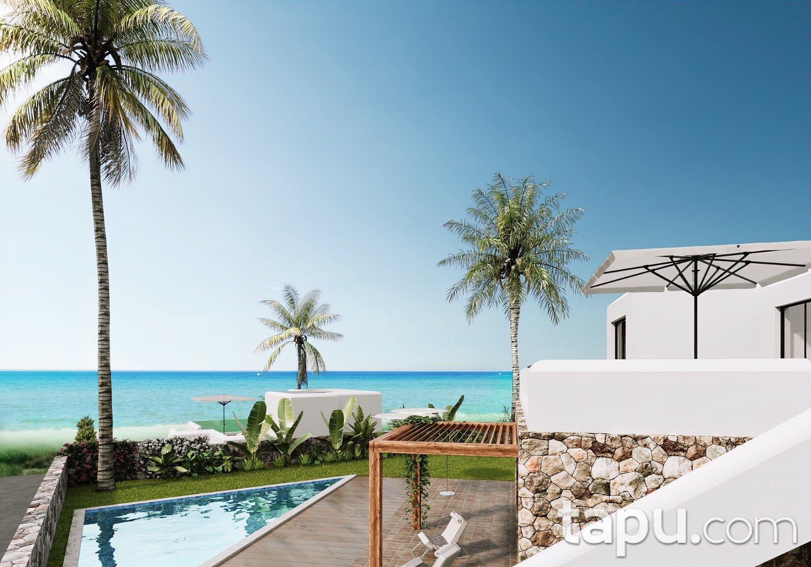 Kıbrıs Aqua View Konsept Proje'sinde Lüks Villalar